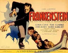 Frankenstein - 11 x 14 Movie Poster - Style F