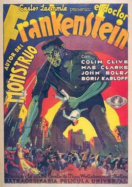 Frankenstein - 11 x 17 Movie Poster - Spanish Style A