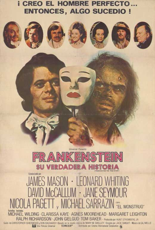 Frankenstein: The True Story Movie Posters From Movie ...
