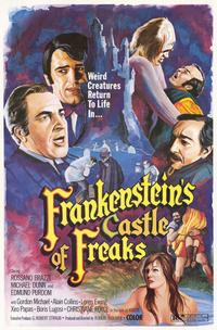 Frankenstein's Castle of Freaks - 11 x 17 Movie Poster - Style A