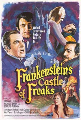 Frankenstein's Castle of Freaks - 27 x 40 Movie Poster - Style A