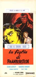 Frankenstein's Daughter - 13 x 28 Movie Poster - Italian Style A