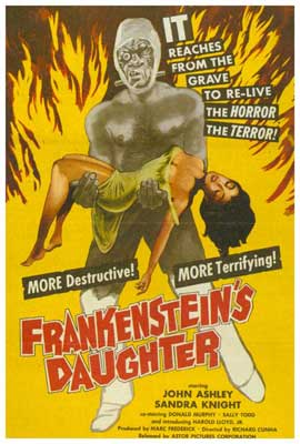 Frankenstein's Daughter - 27 x 40 Movie Poster - Style A