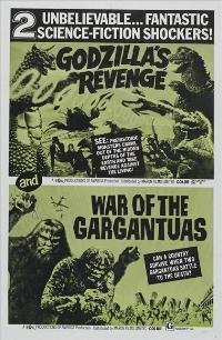 Frankenstein's Monsters: Sanda vs. Gaira - 27 x 40 Movie Poster - Style A