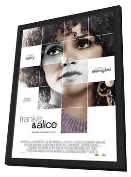 Frankie and Alice - 27 x 40 Movie Poster - Canadian Style A - in Deluxe Wood Frame