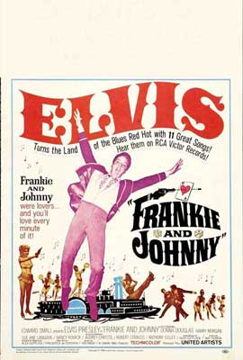 Frankie and Johnny - 27 x 40 Movie Poster - Style B