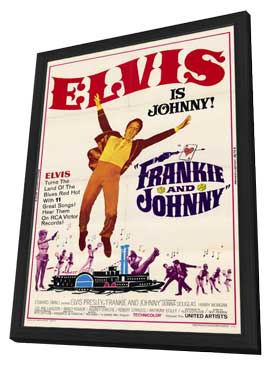 Frankie and Johnny - 11 x 17 Movie Poster - Style A - in Deluxe Wood Frame