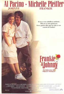 Frankie and Johnny - 11 x 17 Movie Poster - Spanish Style A