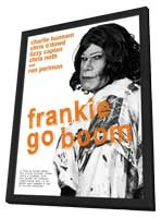 Frankie Go Boom - 11 x 17 Movie Poster - Style A - in Deluxe Wood Frame