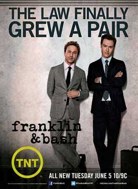 Franklin & Bash (TV) - 11 x 17 TV Poster - Style A