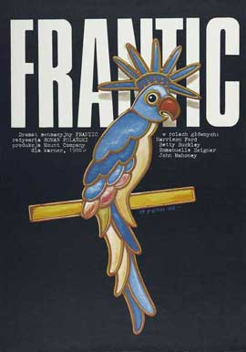 Frantic - 27 x 40 Movie Poster - Polish Style A