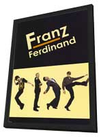 Franz Ferdinand - 11 x 17 Music Poster - Style A - in Deluxe Wood Frame