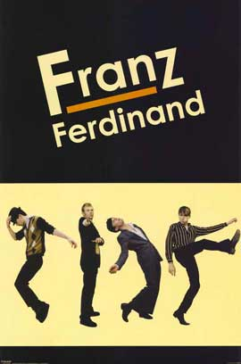 Franz Ferdinand - 11 x 17 Music Poster - Style A