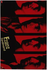 Franz Ferdinand - Music Poster - 22 x 34 - Style E