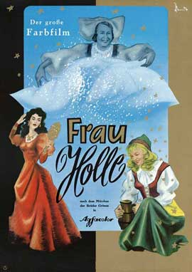 Frau Holle - 11 x 17 Movie Poster - German Style A