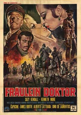 Fraulein Doktor - 11 x 17 Movie Poster - Italian Style A
