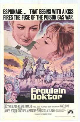 Fraulein Doktor - 11 x 17 Movie Poster - Style A