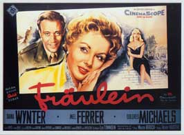 Fraulein - 11 x 17 Movie Poster - German Style A