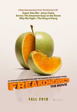 Freakonomics - 11 x 17 Movie Poster - Style A