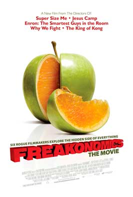 Freakonomics - 43 x 62 Movie Poster - Bus Shelter Style A