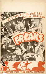 Freaks - 11 x 17 Movie Poster - Style F