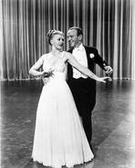 Fred Astaire - Fred Astaire and Ginger Rogers Dancing in Stage