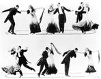 Fred Astaire - Fred Astaire and Ginger Rogers Multiple Dance Images