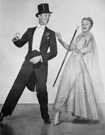 Fred Astaire - Fred Astaire and Ginger Rogers Dancing Scene from Top Hat Film
