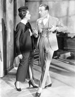 Fred Astaire - Fred Astaire Conversing with Lady in Dress