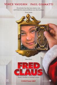 Fred Claus - 43 x 62 Movie Poster - Bus Shelter Style A