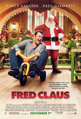 Fred Claus - 11 x 17 Movie Poster - Style C