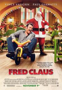 Fred Claus - 43 x 62 Movie Poster - Bus Shelter Style C