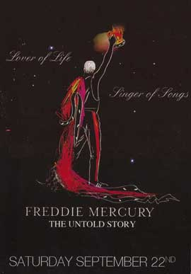 Freddie Mercury, the Untold Story - 11 x 17 Movie Poster - Style A