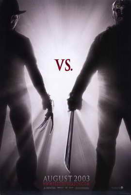 Freddy Vs. Jason - 11 x 17 Movie Poster - Style A