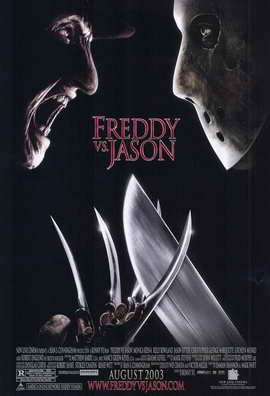 Freddy Vs. Jason - 11 x 17 Movie Poster - Style B