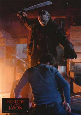 Freddy Vs. Jason - 11 x 14 Poster French Style C