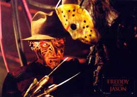 Freddy Vs. Jason - 11 x 14 Poster French Style D