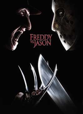 Freddy Vs. Jason - 43 x 62 Movie Poster - Bus Shelter Style A
