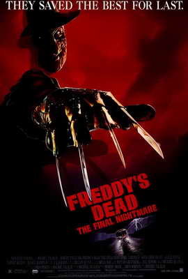 Freddy's Dead: The Final Nightmare - 27 x 40 Movie Poster - Style A