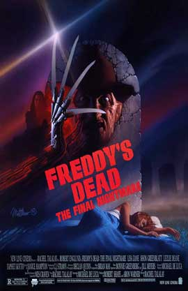 Freddy's Dead: The Final Nightmare - 11 x 17 Movie Poster - Style E