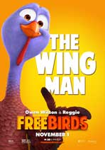 Free Birds - 27 x 40 Movie Poster - Style G