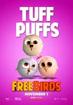 Free Birds - 11 x 17 Movie Poster - Style B