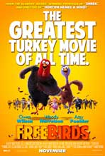 """Free Birds"" Movie Poster"