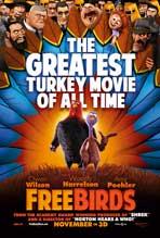 Free Birds - 27 x 40 Movie Poster - Style B