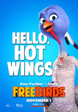 Free Birds - 11 x 17 Movie Poster - Style F