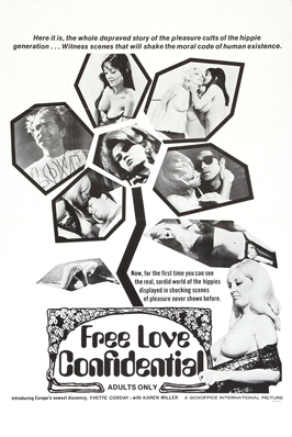 Free Love Confidential - 11 x 17 Movie Poster - Style A