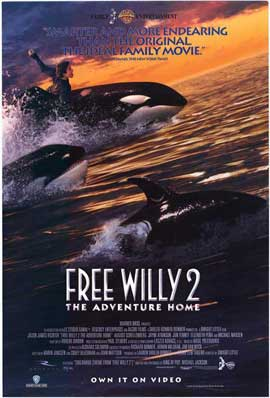 Free Willy 2: The Adventure Home - 27 x 40 Movie Poster - Style A