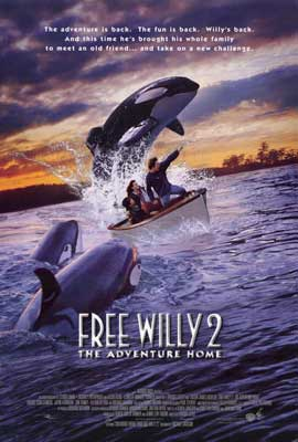 Free Willy 2: The Adventure Home - 27 x 40 Movie Poster - Style B
