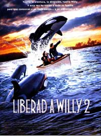Free Willy 2: The Adventure Home - 11 x 17 Movie Poster - Spanish Style A