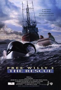Free Willy 3: The Rescue - 27 x 40 Movie Poster - Style A